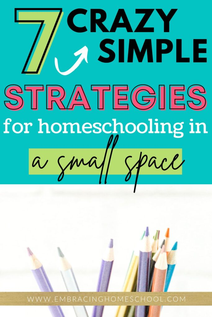 7 Amazing Tips For Homeschooling in a small space