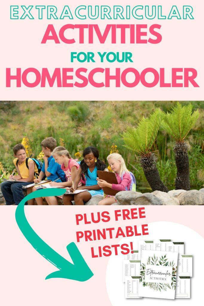 Extracurricular activities for your homeschooler