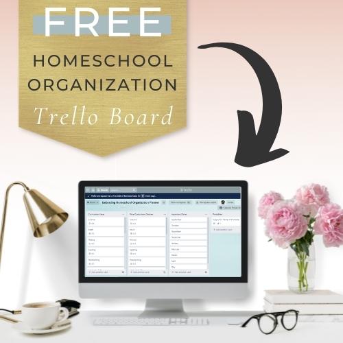 free homeschool trello board
