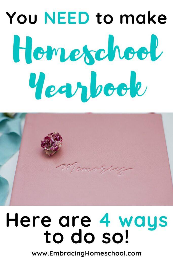 Creative Homeschool Yearbook Ideas to Start this year
