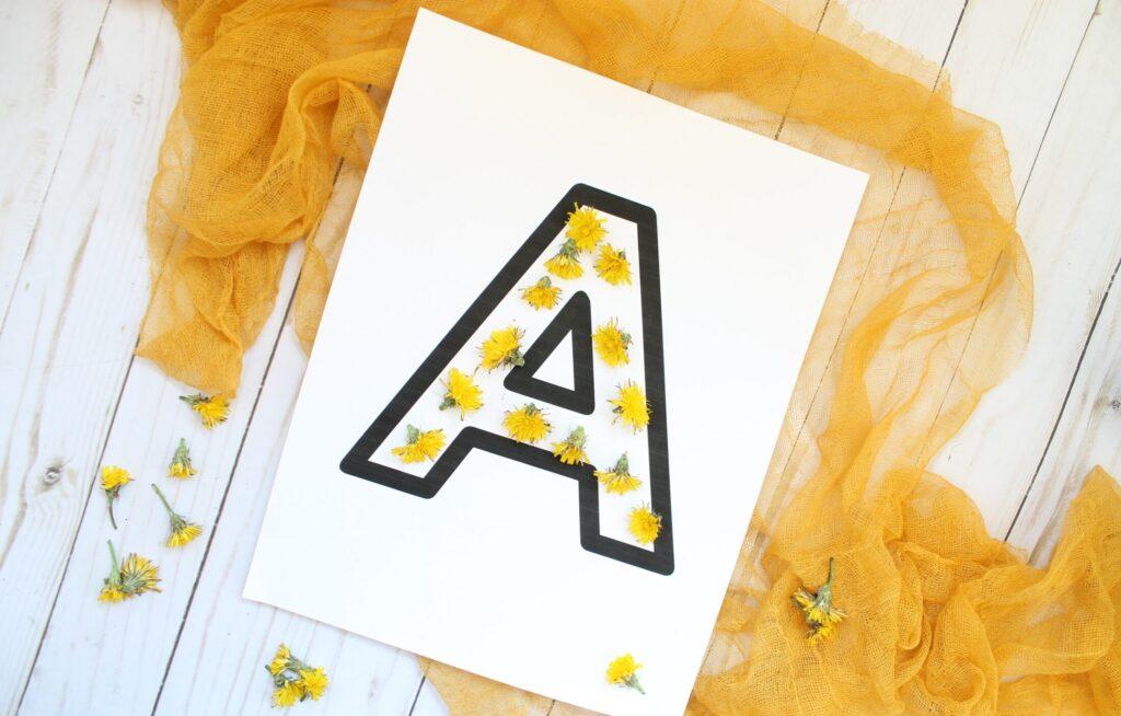 Letter practice charlotte mason style